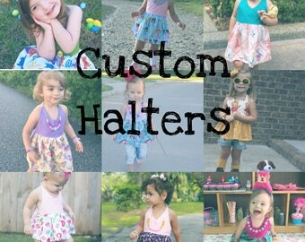 Custom Halters