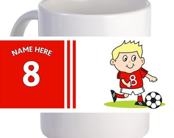 Footy 11 oz Coffee Mug Beautiful Personalized With Graphics And Text