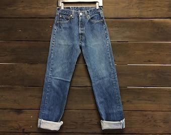 Vintage Levis 501s W29 L34