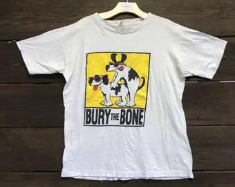 Vintage 90s Bury The Bone Tee