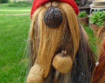 5 Arts Studio  KEN ARENSBAK 1978 Wizard with Red Cap Gnome  Hat Troll