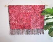 Handwoven Patchwork Nahuala Textile