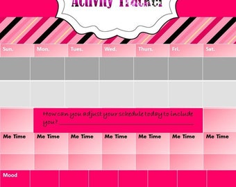 Self Care  Activities  Tracker