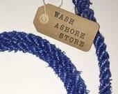 Blue Block Island Rope Leash