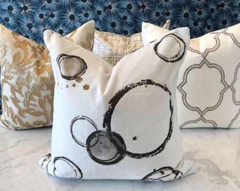 Kravet Peinture Velvet Pillow