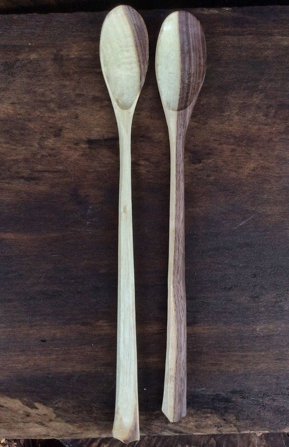 Hand Carved Wooden Spoon Cook Spoon