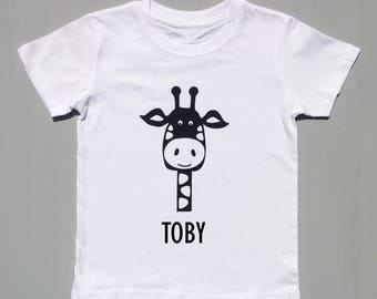 Gina the Giraffe baby/child's tee-shirt - personalised