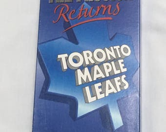 Toronto Maple Leafs 92-93 Season VHS - The Passion Returns