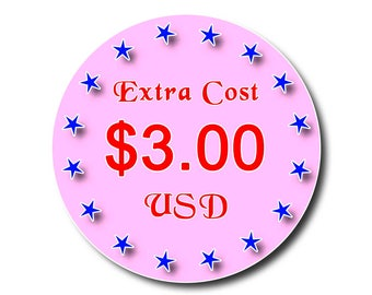 Extra Cost Payment USD 3.20