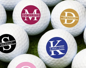 Monogram Personalized Golf Balls  - Bulk Price Available (MIC-JM8250855)