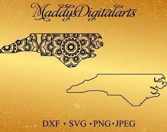 North Carolina Svg Etsy