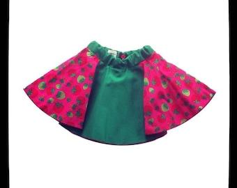 Fall/winter clothing girls - Strawberry Field Forever skirt