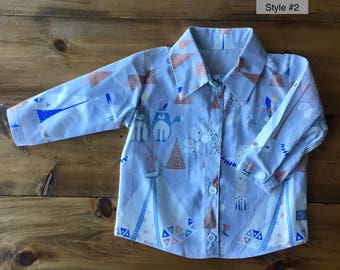 The Brussels Shirt - Size 3-6 mo