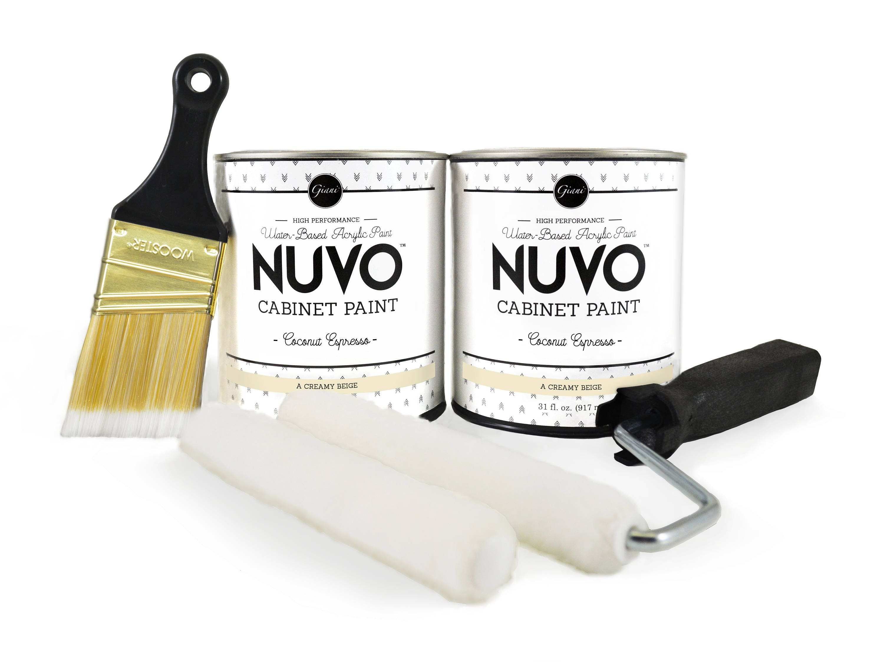 Nuvo Coconut Espresso Cabinet Paint Kit From Gianiinc On