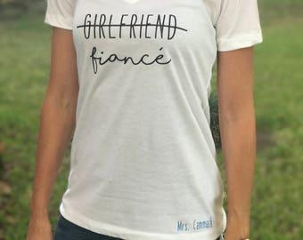 Fiancé Shirt / Bride Shirt / Girlfriend Fiancé