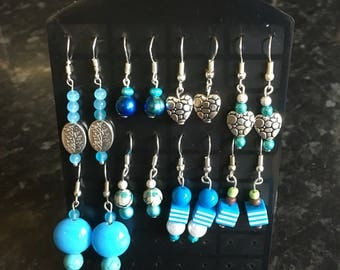 Lovely selection of hand crafted earrings