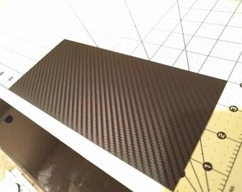 3M 1080 Black Textured Carbon Fiber