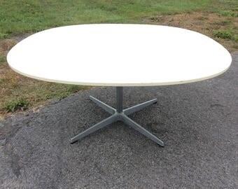 Arne Jacobsen Fritz Hansen Laminate Coffee Table Danish Modern Mid Century