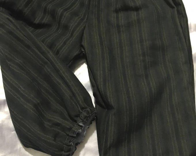 Pantalon enfant en jean doublé polaire