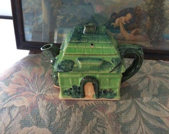 Antique Cottage Tea Pot