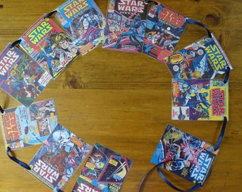 Star Wars comic book Bunting.