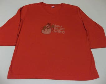 Have a holly jolly Christmas t - shirt XL
