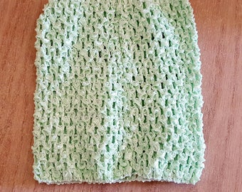 balance 3.30 instead of 3.80.BUSTIER EXPANDABLE Mint tutu baby dress crochet 0-16 month