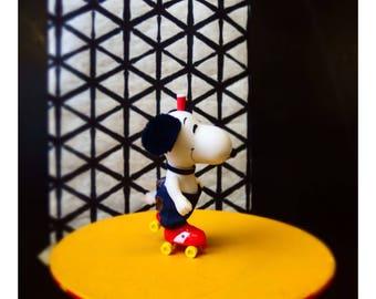 "Fine art print ""Snoopy with Milkshake"" A4"