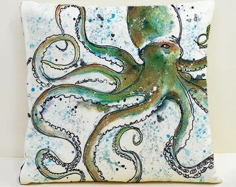 Octopus Cushion Cover