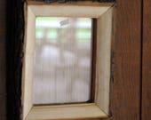 Rustic maple picture fram...