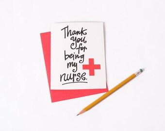 Greeting Card: Thank You Nurse