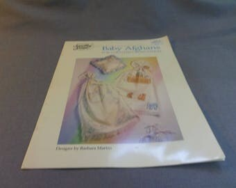 Counted Cross Stitch Patterns, Baby Afghans, Noah's Ark with Animals, Rocking Horse, Anne Cloth or Afghan, Something Special