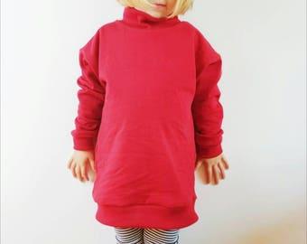 Toddler Sweater - Toddler Sweatshirt - Toddler Polo Sweater - Kids Sweater - Kids Sweatshirt - Baby Sweater - Organic Sweater - Oversized