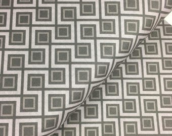 Sale Fantine Geometric in Gray from the Fantine Collection by Lila Tueller for Riley Blake Fabrics