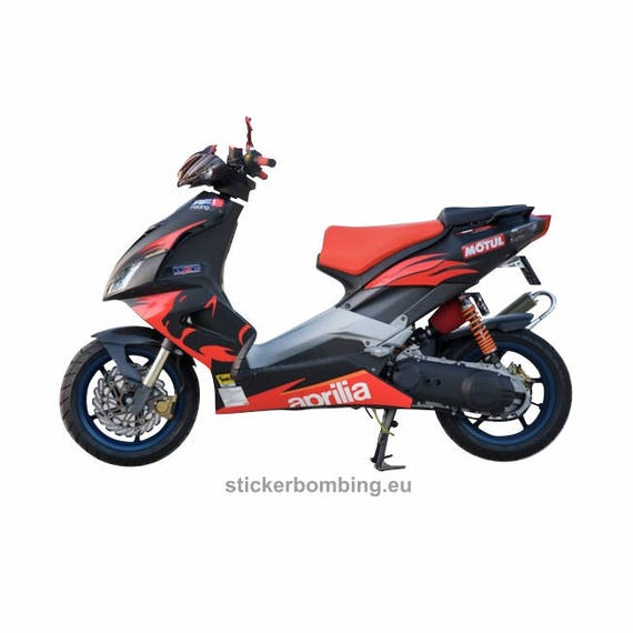 aprilia sr 50 r full sticker set replica graphics. Black Bedroom Furniture Sets. Home Design Ideas