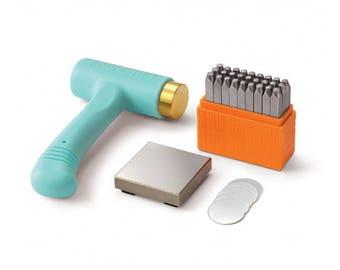 1 Metall Stempel Kit Impressart Basic 3 mm Großbuchstaben