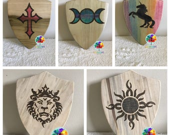 Custom Wooden Shield