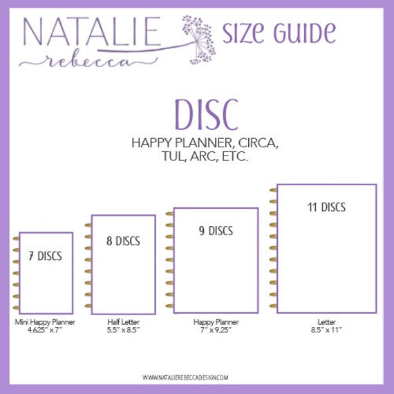 Notes Happy Planner Blank Paper Happy Planner Refill