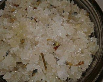 Hawaiian sea salt scrub