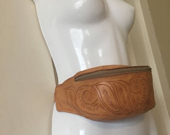 Vintage Leather fanny pack