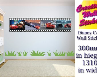 Disney Cars wall art sticker Children's Bedroom xx Large decal wall art.