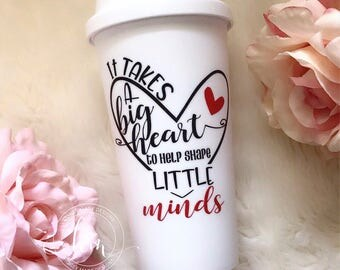It takes a big heart ... Travel Mug