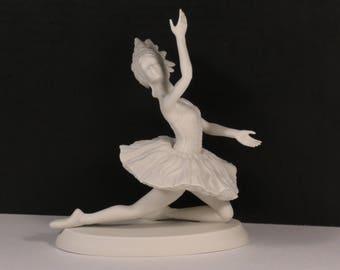 "Vintage Boehm Studio Limited Edition Ballet Series Porcelain ""Firebird"" Blanc Figurine."