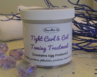Tight Curl & Coil Taming / Defining Cream Treatment