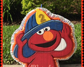 Elmo Fire Pinata Birthday. Party Decorations and Supplies