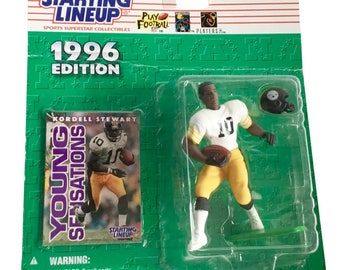 NFL Starting Lineup SLU Kordell Stewart Action Figure Pittsburgh Steelers 1996