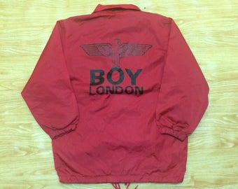 Vintage 90's Boy London Coach Jacket