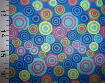 Atmosphere Blue 100% Cotton Fabric #353