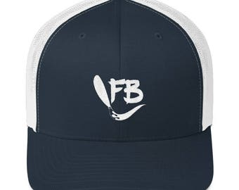 Trucker Cap with Embroidered Logo