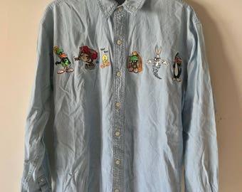 Warner Brothers Denim Shirt